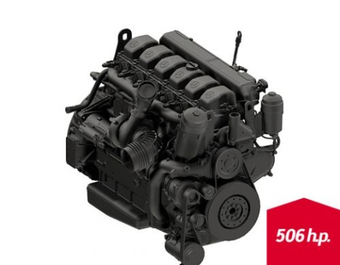 Engine Cummins QSX 11.9 (490 h.p.)